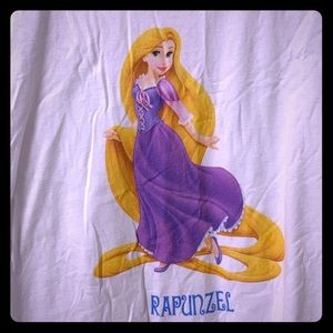 Disney Shirts - Custom Disney Rapunzel T-Shirt, XXL